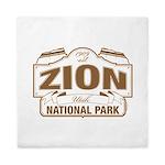 Zion National Park Queen Duvet