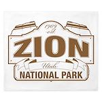 Zion National Park King Duvet