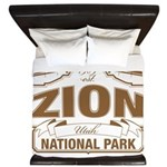 Zion National Park King Duvet