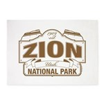 Zion National Park 5'x7'Area Rug