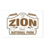 Zion National Park Postcards (Package of 8)