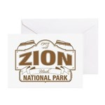 Zion National Park Greeting Cards (Pk of 20)