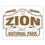 Zion National Park Small Poster