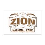 Zion National Park Mini Poster Print