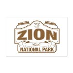 Zion National Park Mini Poster Print