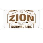 Zion National Park Banner