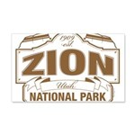 Zion National Park 20x12 Wall Decal