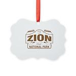 Zion National Park Picture Ornament
