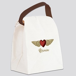 Charmaine the Angel Canvas Lunch Bag