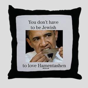 Funny Purim Obama Throw Pillow