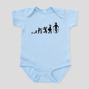 Rope Jumping Infant Bodysuit