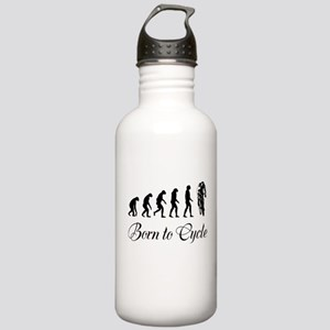 Born To Cycle Water Bottle