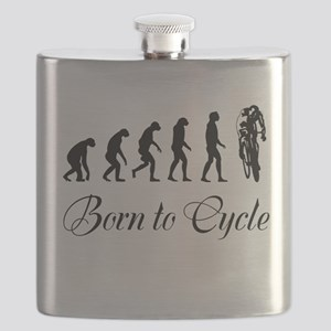 Born To Cycle Flask