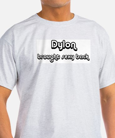 Sexy Back: Dylon Ash Grey T-Shirt