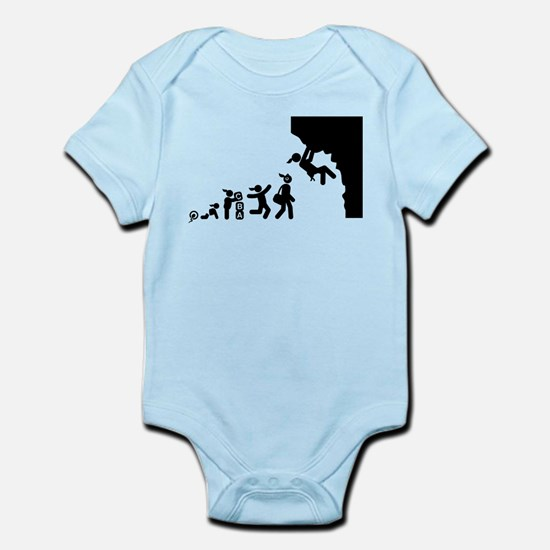 Rock Climbing Infant Bodysuit