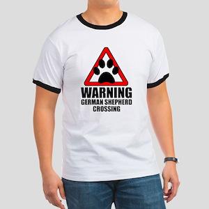 German Shepherd Warning T-Shirt