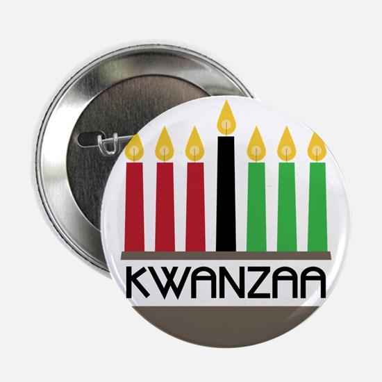 "Happy Kwanzaa 2.25"" Button"