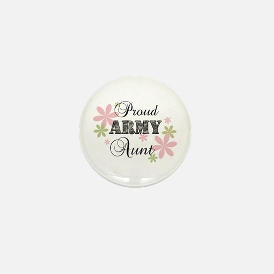 Army Aunt [fl camo] Mini Button