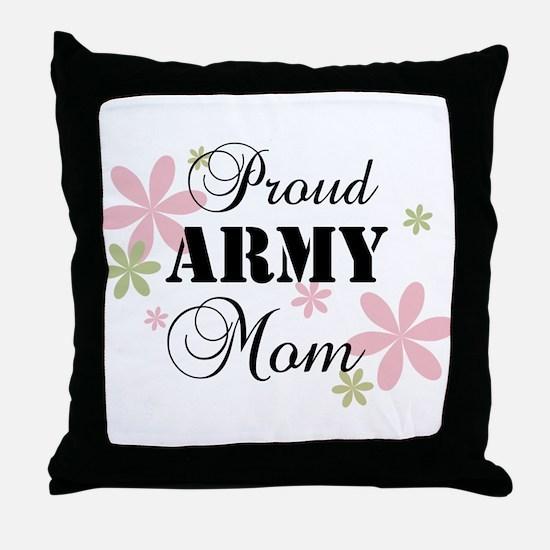 Army Mom [fl] Throw Pillow