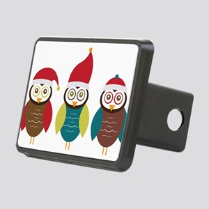 Christmas Owls Hitch Cover