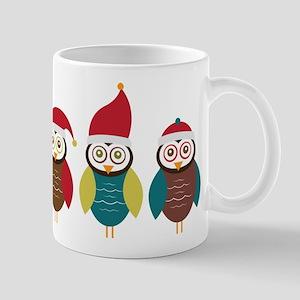 Christmas Owls Mug