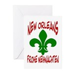 New Orleans ChristmasGerman Cards (Package