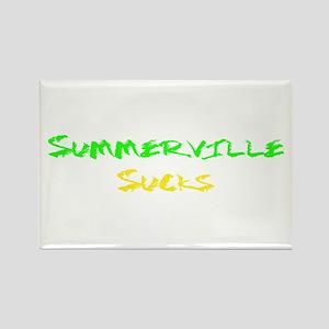 Summerville Sucks Rectangle Magnet