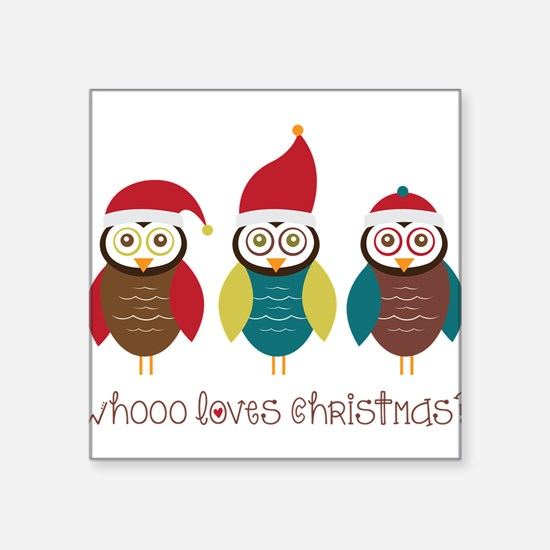 Who Loves Christmas? Sticker