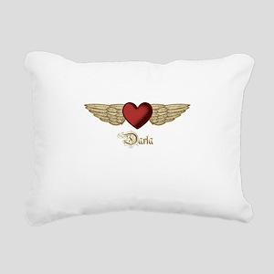 Darla the Angel Rectangular Canvas Pillow