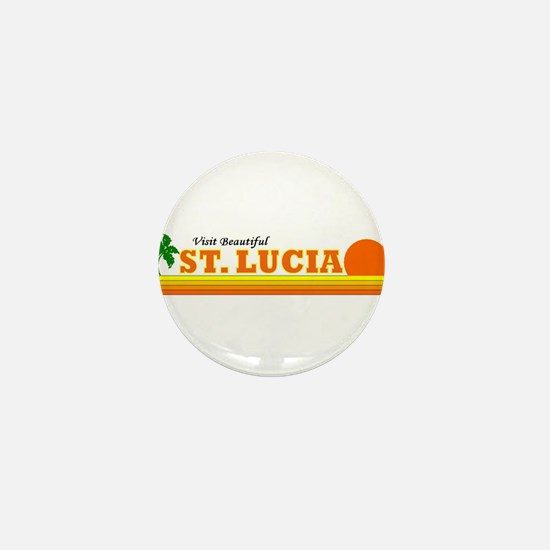 Cute Lucia Mini Button
