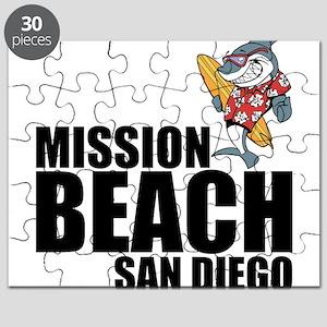 Mission Beach, San Diego Puzzle