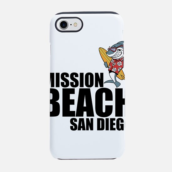 Mission Beach, San Diego iPhone 7 Tough Case