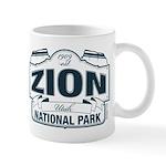 Zion National Park Blue Sign Mug