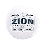 Zion National Park Blue Sign 3.5