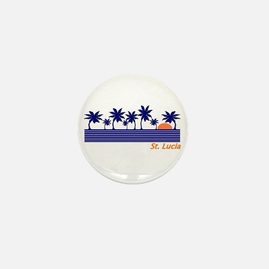 Funny Carribean Mini Button