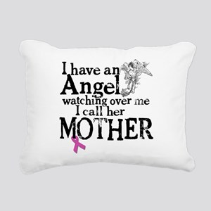 8-mother angel Rectangular Canvas Pillow