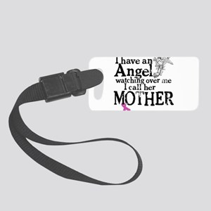 8-mother angel Small Luggage Tag