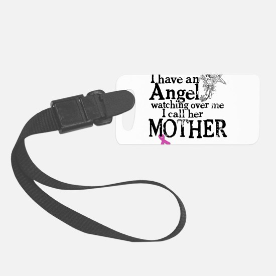 8-mother angel.png Luggage Tag