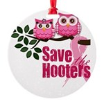 hooters copy Round Ornament