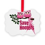 hooters copy Picture Ornament