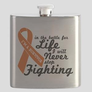 Leukemia Survivor Flask