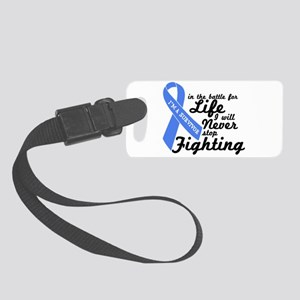 Prostate Cancer Survivor Small Luggage Tag