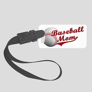 Baseball_Mom Small Luggage Tag