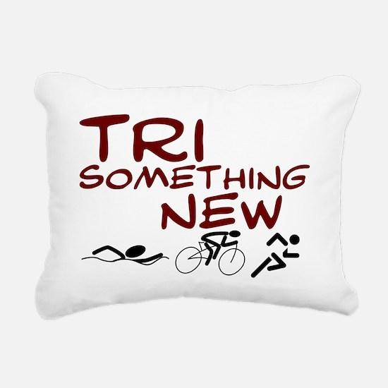 Tri something new.png Rectangular Canvas Pillow