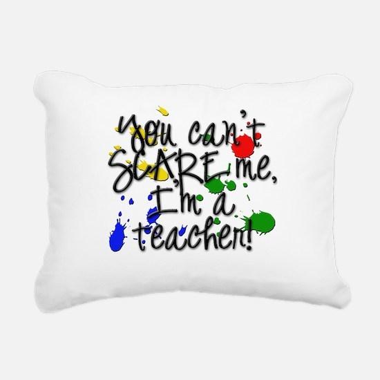 Teacher Scare copy.png Rectangular Canvas Pillow
