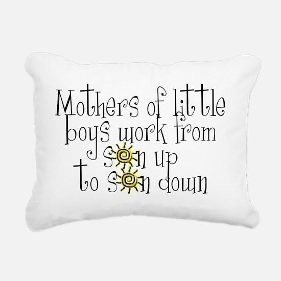 son up shirt.jpg Rectangular Canvas Pillow