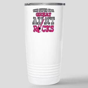 Great Aunt Rocks Stainless Steel Travel Mug