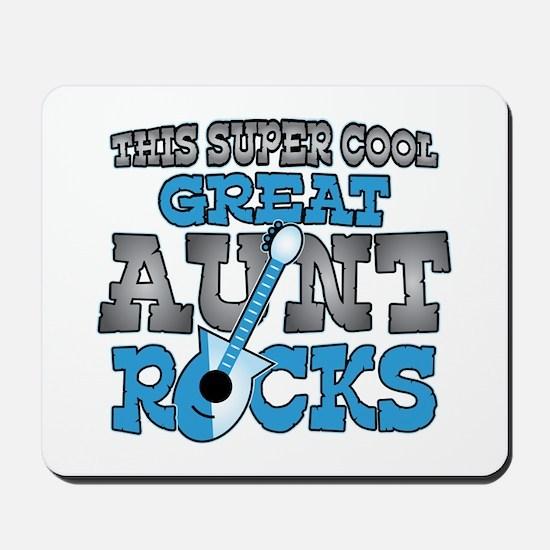 Great Aunt Rocks Mousepad