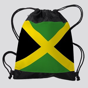 Jamaican Flag Drawstring Bag