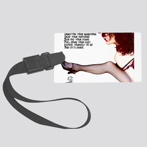 Unbutton Your Inhibitions Luggage Tag